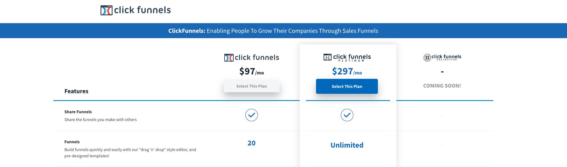 clickfunnels upgrade