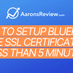 How to Setup Bluehost Free SSL Certificate in Less than 5 Minutes